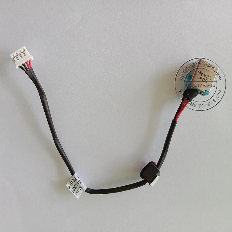 Cable de entrada de alimentación CC, conector para Acer Aspire E1-531 5750...