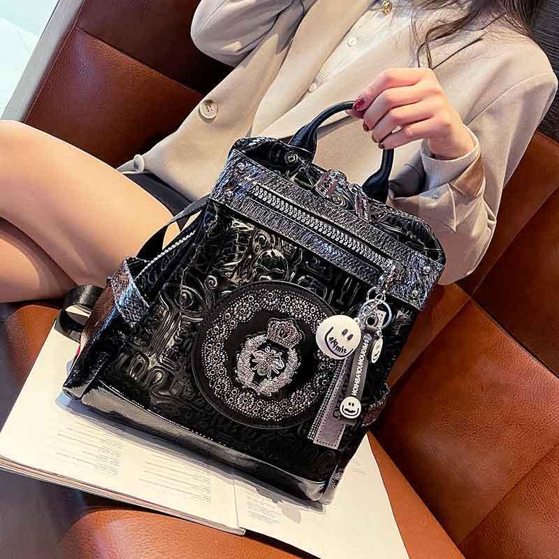 Luxury Animal Prints Mini Backpack Women Microfiber Synthetic Leather Shoulder Bag Female Mochila Escolar Nina Back Pack
