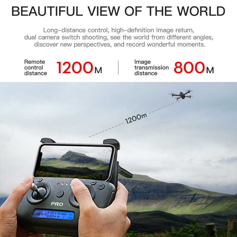 ZLL SG906 MAX PRO 2 PRO2 GPS Drone 4K Profesional Camera HD RC Dron with 3-Axis Gimbal WiFi FPV Brushless Motor Quadcopter 10