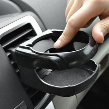 Car Cup Holder Outlet Air Vent Cup Rack Beverage Mount Insert Stand Holder Drink Bottle Stand Container Hook Car Accessories