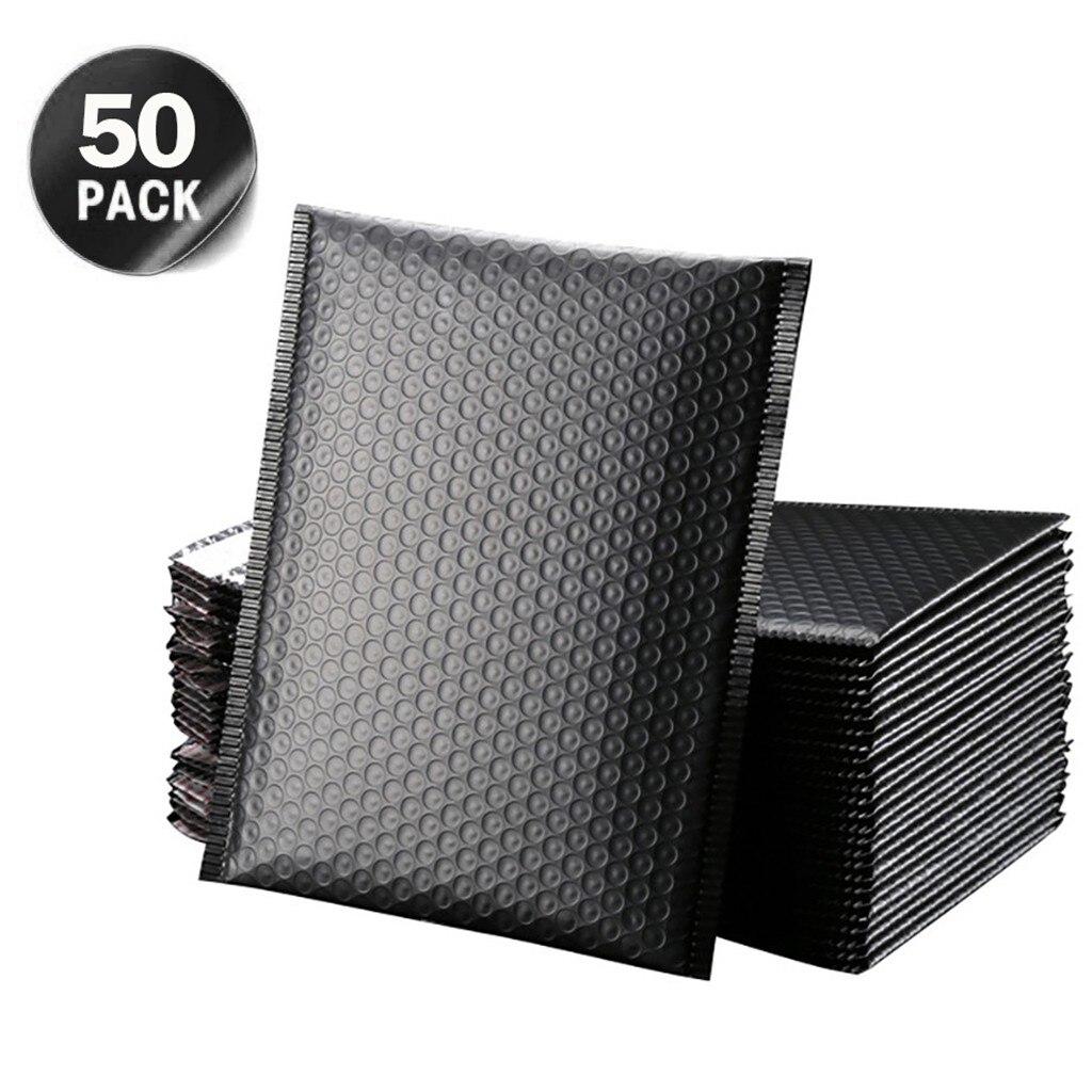 50 pçs 3 tamanhos de papel kraft bolha envelopes sacos acolchoados mailers envio envelope com bolha sacos de embalagem sacos de correio d0