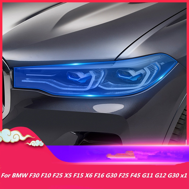 For BMW F30 F10 F25 X5 F15 X6 F16 G30 F25 F45 G11 G12 G30 X1 F48 Car Accessories Restoration Headlight Protection Film Stickers