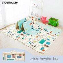 Tapis de jeu pliable pour bébé, Puzzle Xpe, tapis éducatif pour enfants dans la crèche, tapis descalade, activités, jouets