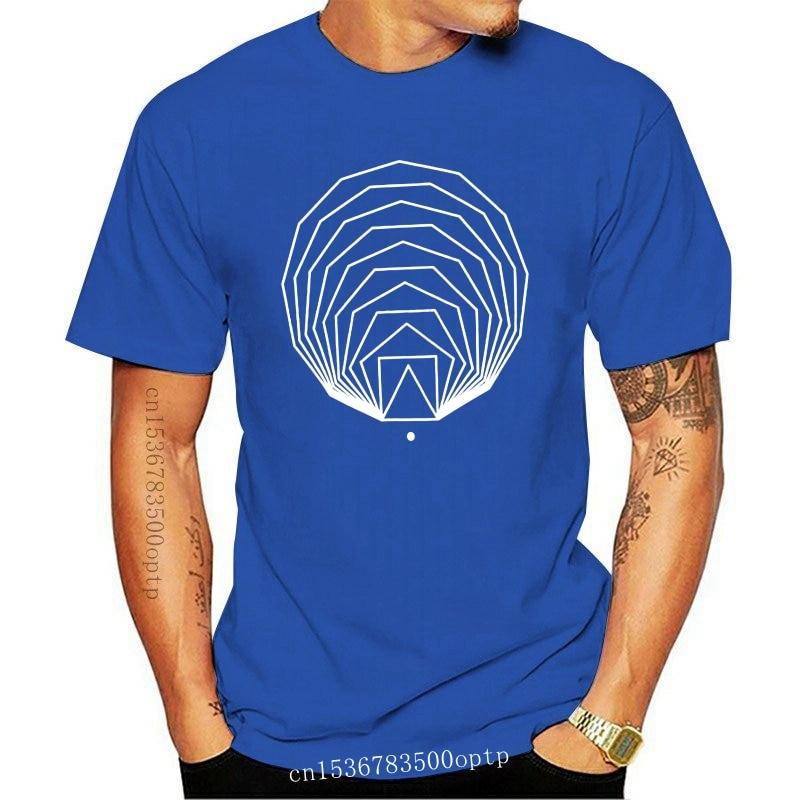 New Expanding Polygons Black Tee Minimal T-shirt Geometric Shape Men T Shirt Geometry Tshirt Organic Cotton Sacred Geometry Tria