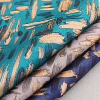 jacquard brocade fabrics for suit skirt coat and satin dress luxury fashion clothing fabric sewing materials for sofa cushion