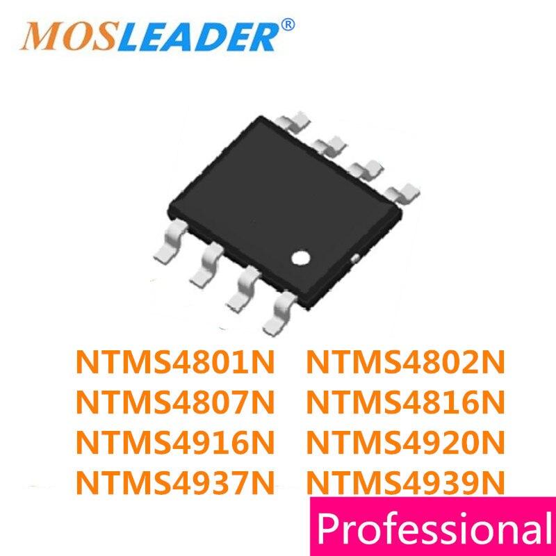 SOP8 100 قطعة NTMS4801N NTMS4802N NTMS4807N NTMS4816N NTMS4916N NTMS4920N NTMS4937N NTMS4939N