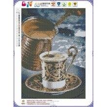 Diamond Painting Landscape Diamond Embroidery Coffee Handmade Gift Full Square Wall Art Home Decor