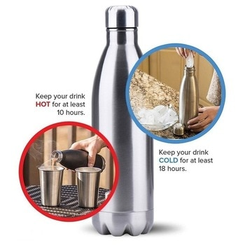 Bottle Stainless Steel Vacuum Flask High Quality Thermos Mug for 500ml Sports Water Bottle Cycling Climbing Free Shipping Items