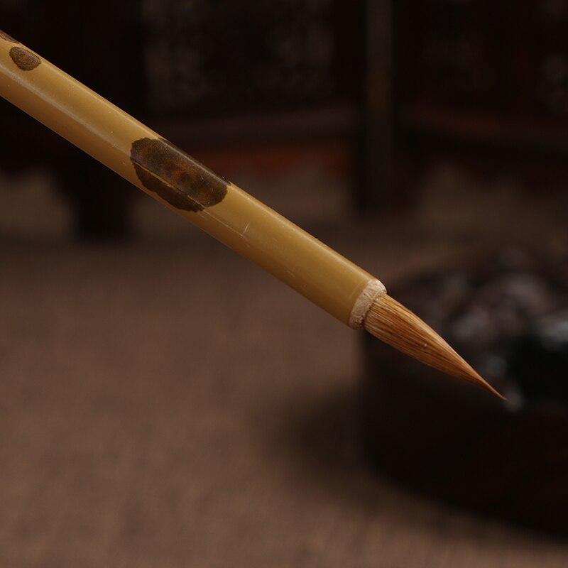 Китайская каллиграфическая ручка для волос Китайская кисть для каллиграфии Huzhou маленькая обычная ручка-кисть для письма Tinta China