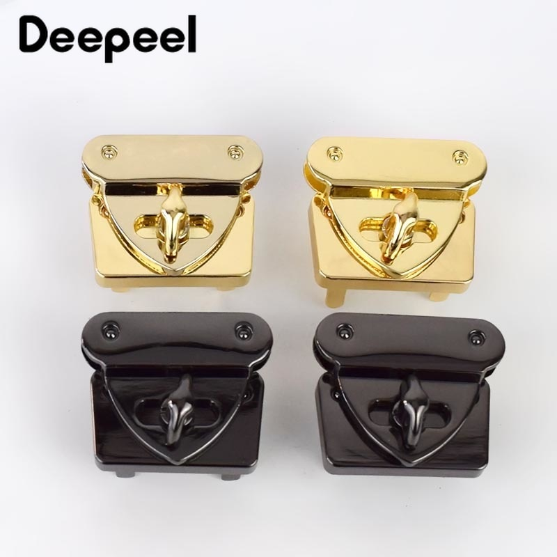 osmond alloy tone turn locks snap clasps closure buckle for bags accessories diy handbags purse alloy button replacement lock 5Pcs 31X37mm Handbag Metal Locks Buckle Fashion Twist Turn Lock Snaps DIY Latch for Bags Purse Clasp Closure Accessories BF120