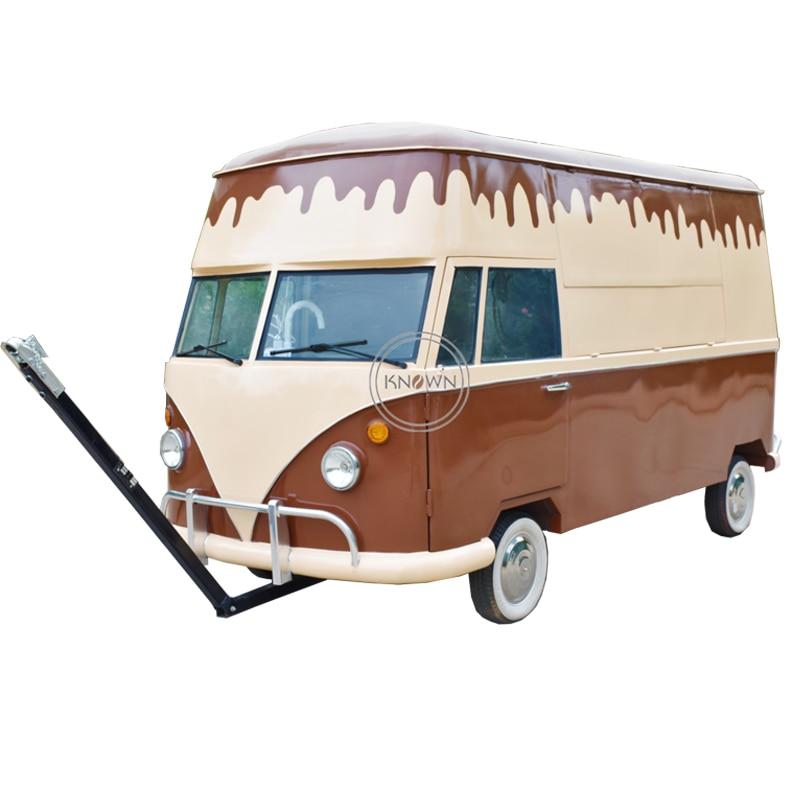 Preço baixo com boa qualidade móvel comida carrinho/caminhão/reboque hambúrgueres jantar churrasco carro para venda com tração quadro