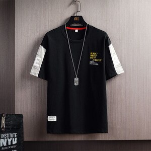 Hot Sale Short Sleeved T-shirts Men Cotton Popular Logo 2021 Spring Summer O-neck Streetwear Casual T-shirt Male Dropshipping