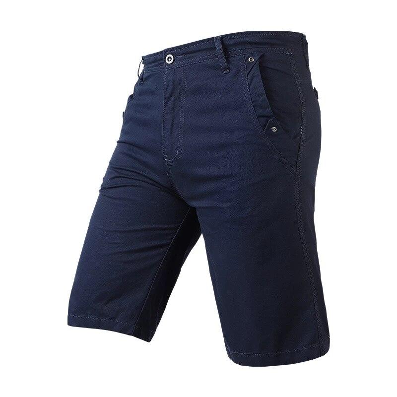Шорты мужские однотонные из хлопка, удобные штаны-карго со множеством карманов, повседневные мужские шорты в стиле милитари, лето 2021