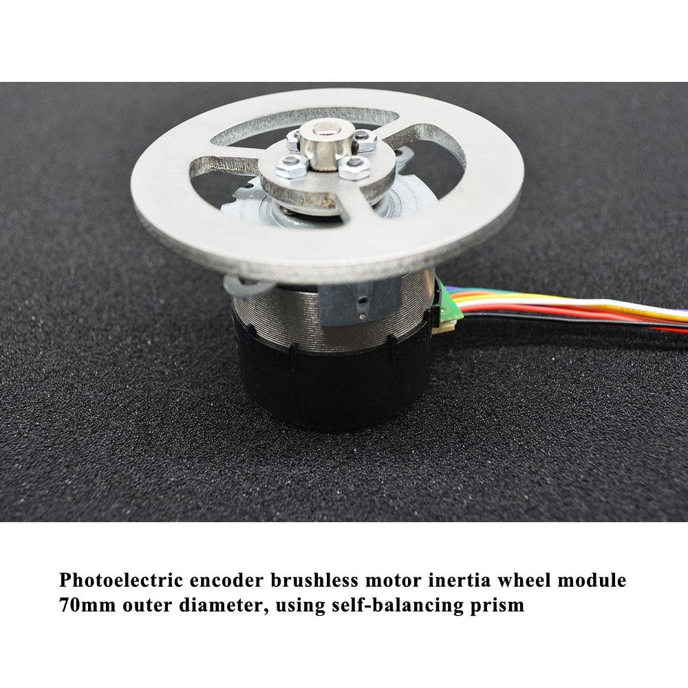 Open Source STM32 Balance Car Inertia Wheel Balance Bike Bluetooth-compatible RC Pid Control DIY Smart Robot Cheap enlarge
