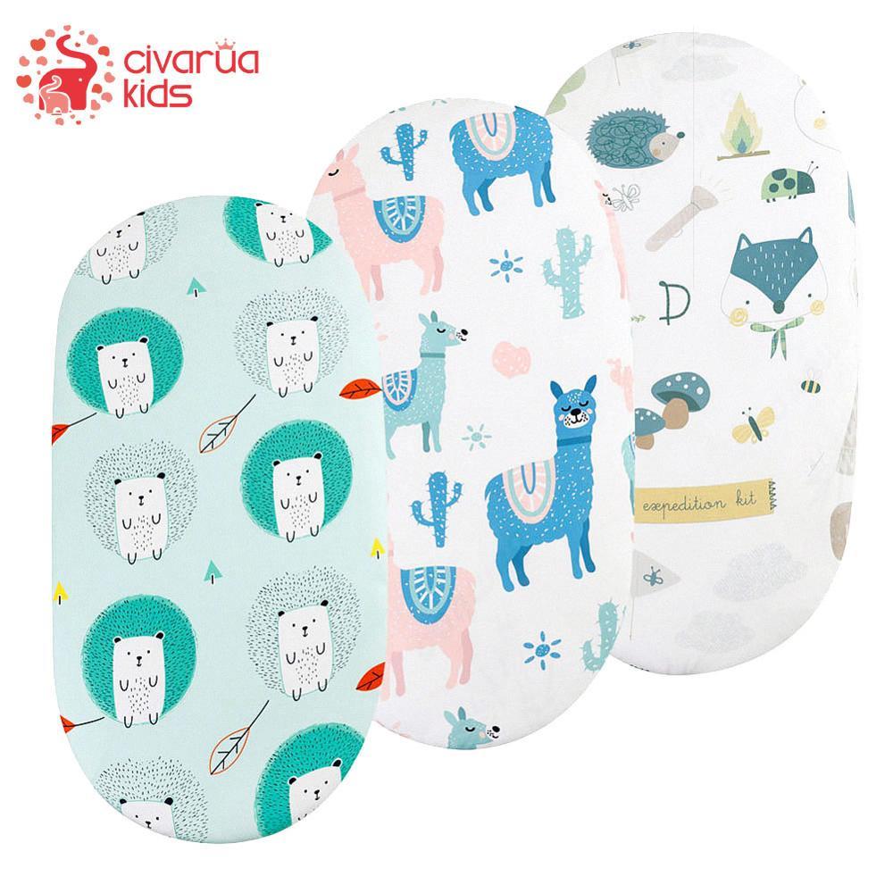 Bassinet Sheet Crib Sheets Baby Bed Mattress Cradle Covers Print Newborn Bedding Set Newborn Mini Cot Sheet galaxy print full over bed sheet set