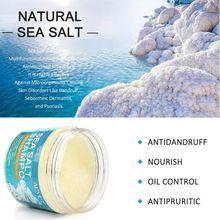 Shampooing naturel au sel de mer shampooing pour le traitement des cheveux pour le cuir chevelu Psoriasis démangeaisons pellicules