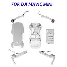 Original Mavic Mini Arme mit Motor Oberen Shell Nahen Shell Bottom Shell für DJI Mavic Mini Motor Arm Reparatur Service ersatzteil