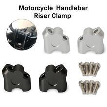 2 pezzi morsetto Riser manubrio moto 22MM Riser barra morsetto moto universale accessori moto