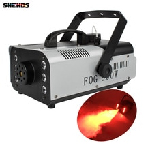Mini 900W RGB 3IN1 télécommande brouillard Machine pompe DJ Disco fumée Machine pour fête mariage noël scène brumisateur Machine
