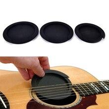 Nouveau Silicone acoustique classique guitare Feedback Buster son trou couverture tampon bloc arrêt Plug guitare pièces et accessoires 3 tailles