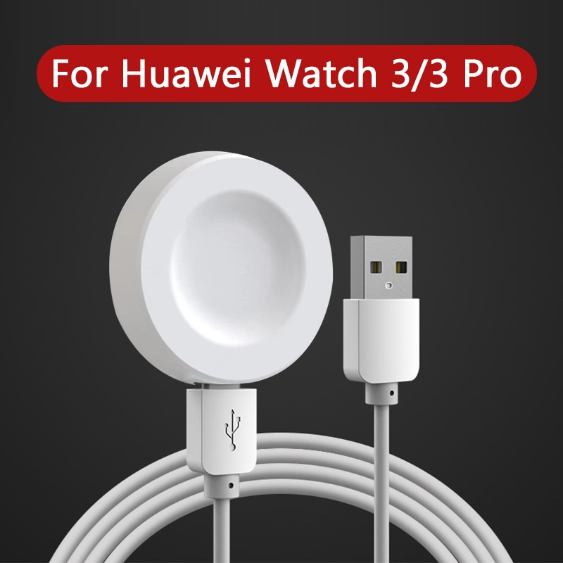 USB Charging Cable For Huawei Watch 3 Pro Wireless Charger Cradle For Huawei Watch GT2 Pro Conversio