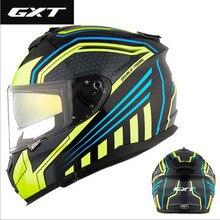 Protection de sécurité Knight pour moto   Casque complet GXT, Double objectif, casques de moto fabriqués en ABS avec lentille pour PC, nouveau 2019