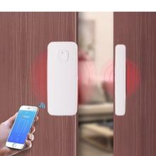 Smart Home tuya Door Alarm WIFI Door Window Sensor Real-Time App Control Intelligent Life Compatible