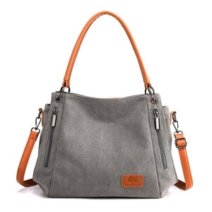 Casual Canvas Bag Women's Shoulder Bag Simple Sail New Student Literature Large Capacity Women Bag Bolsa Feminina
