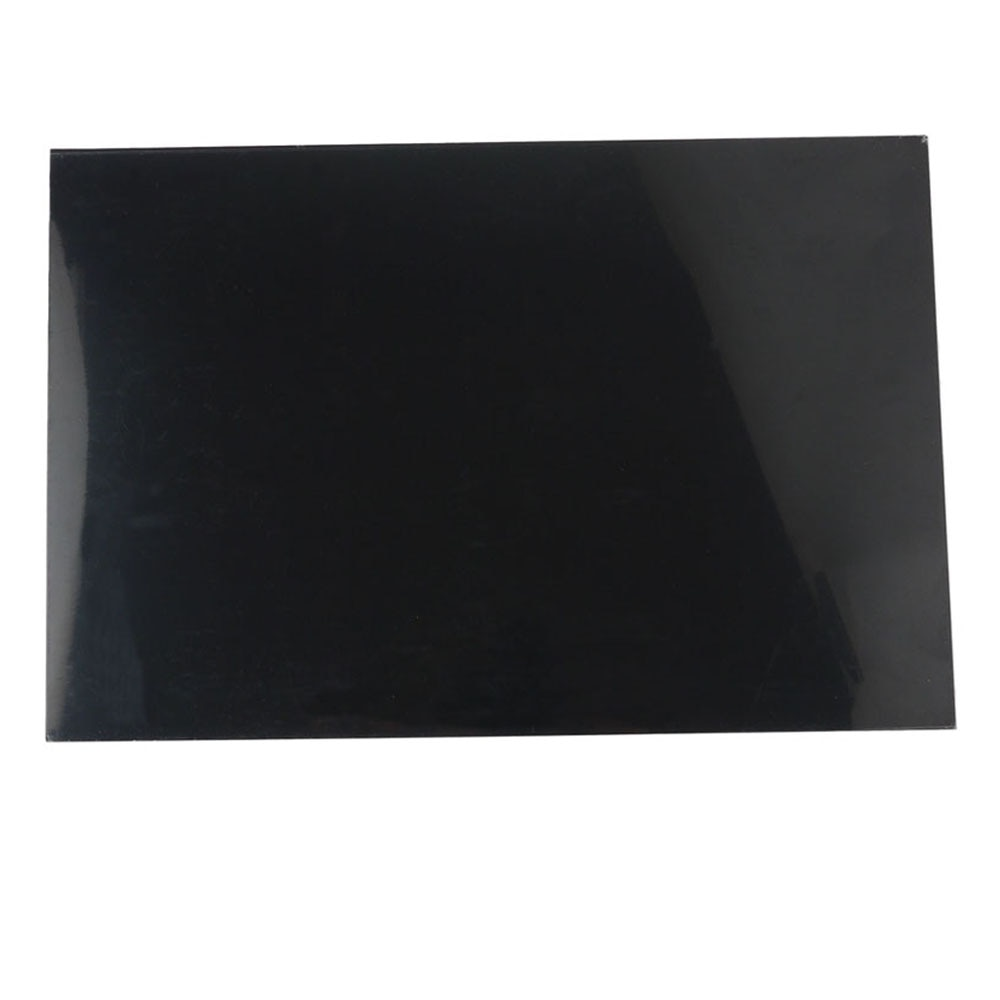 Black Electric Guitar Bass Pickguard Scratch Plate Sheet Blank Material Pure 3Ply Custom 29x43cm DIY for Guitar Accessories enlarge
