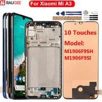 Дисплейный модуль для Xiaomi Mi A3, с рамкой/без рамки