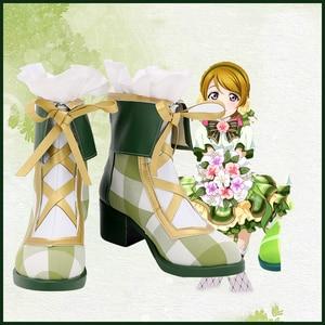 Hanayo Koizumi Cosplay Shoes High-heeled Sandals Heels Fashion Summer Cool Shoes LoveLive! Japanese Anime Cos Boots