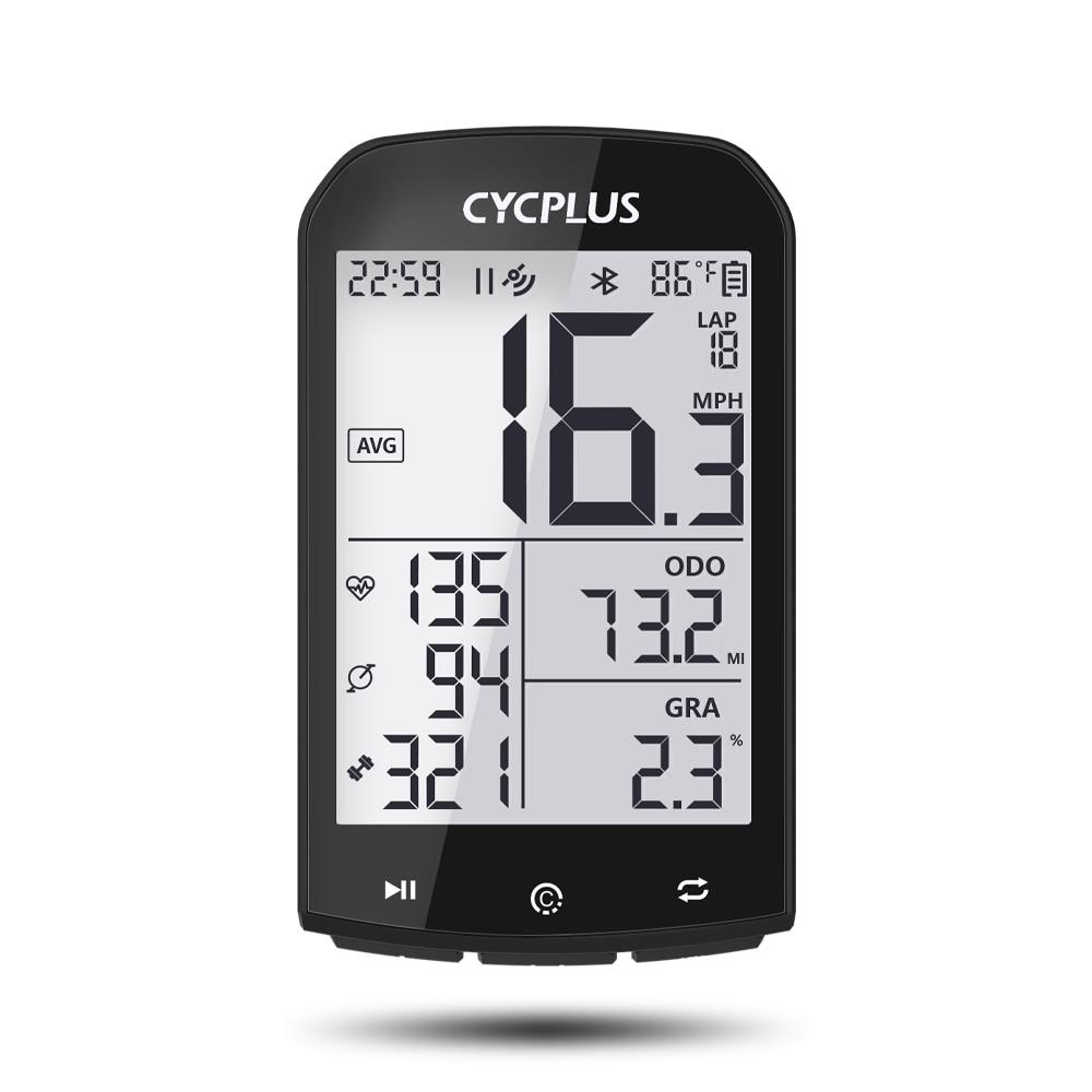 CYCPLUS-كمبيوتر الدراجة GPS ، عداد السرعة اللاسلكي ، عداد المسافات ، لركوب الدراجات ، Garmin Strava Zwift