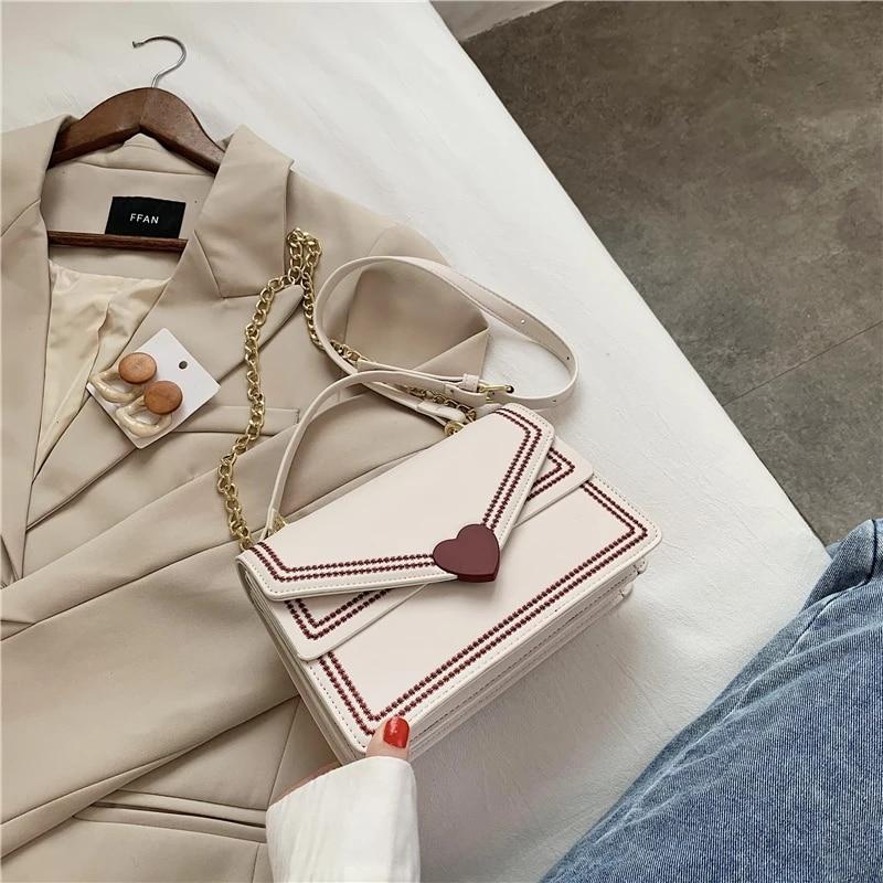Роскошные бренды, новый дизайн, модная женская сумка-почтальонка на цепочке, текстурная маленькая квадратная сумка через плечо из искусств...