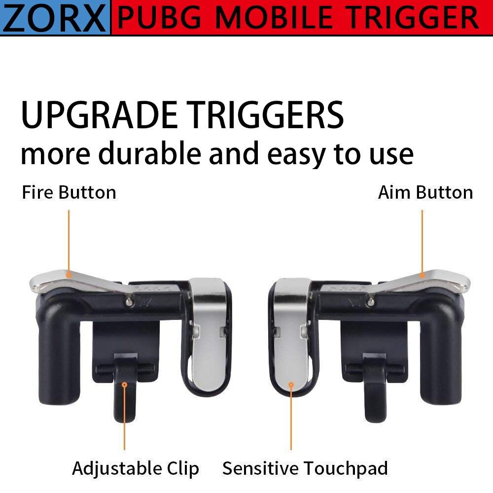 2 uds botón tipo gatillo para jugar Botón de apuntar inteligente Joysticks...
