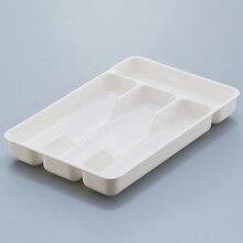 Couverts organisateur boîte cuisine tiroir organisateur séparation finition boîte de rangement écologique PP plateau cuillère couteau fourchette couverts