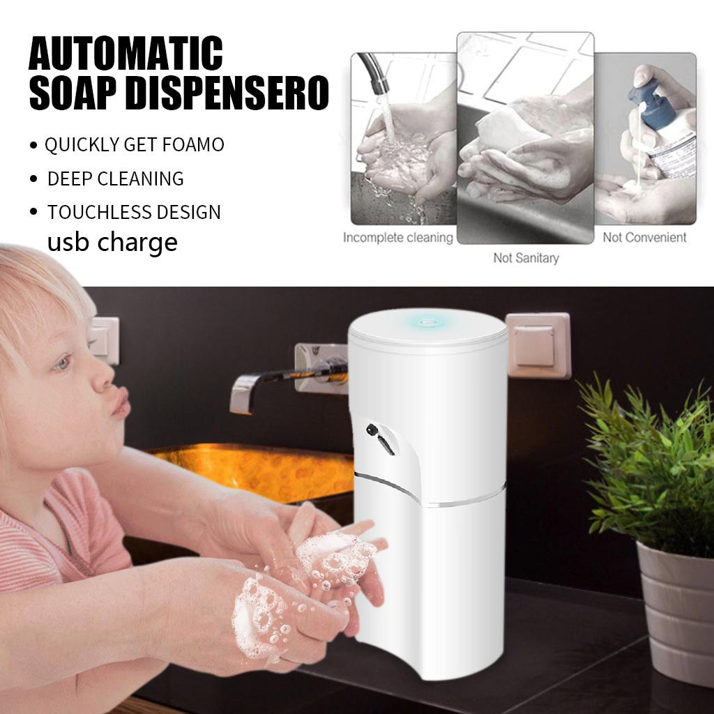 Dispensador De jabón líquido inteligente, dispositivo automático De espuma De inducción sin...