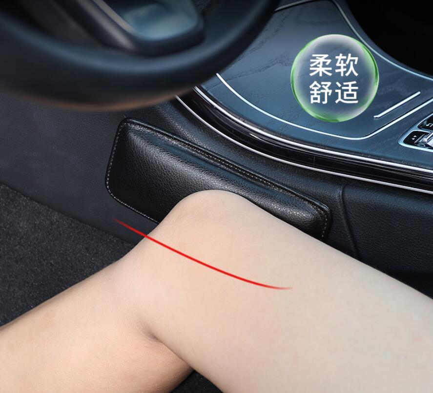 Car Knee Pad Protective Cushion Mats For Toyota Prado Camry Wish Corolla C-HR Auris MARK X Kluger Celica RAV4 Prius Accessories