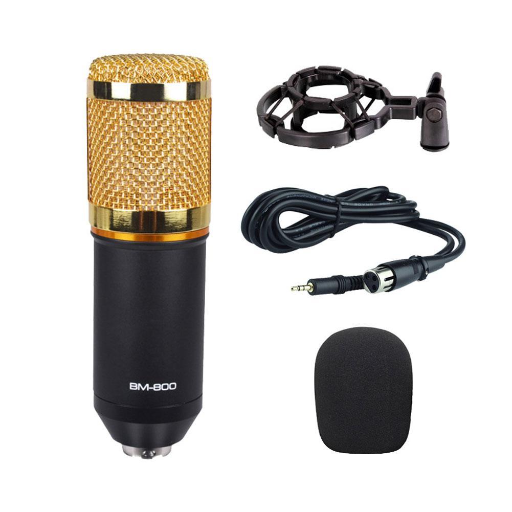 BM800 Metal Mesh Studio Home KTV ordenador grabación de sonido micrófono condensador