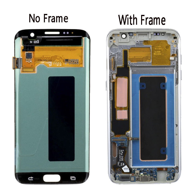 Display No Defect Original for SAMSUNG Galaxy S7 Edge G935 G935F G935FD With Frame LCD Display Touch Screen Digitizer Assembly enlarge