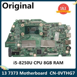 Lsc para dell inspiron 13 7373 13-7373 7370 placa-mãe do portátil com I5-8250U 1.6ghz cpu 8gb ram CN-0VTHG7 0vthg7 vthg7