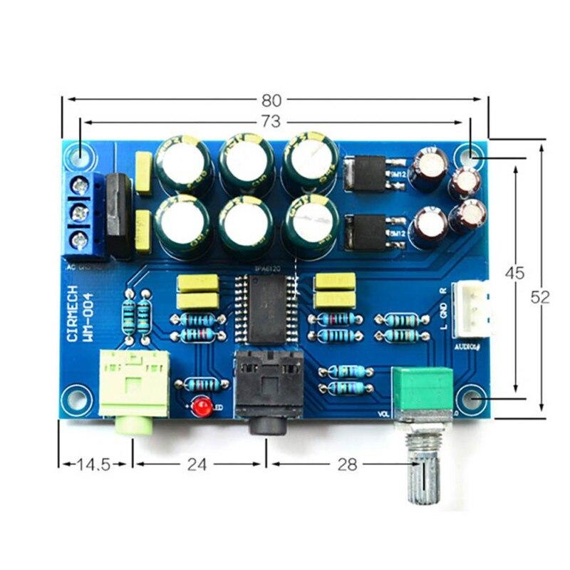 Placa amplificadora de auriculares TPA6120 HIFI TPA6120A2, accesorios para auriculares