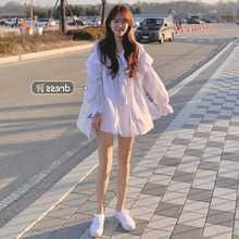 Fairy First Love White Dress Women's Summer High Waist Slimming Temperament Tea Dress Super Mori Gen