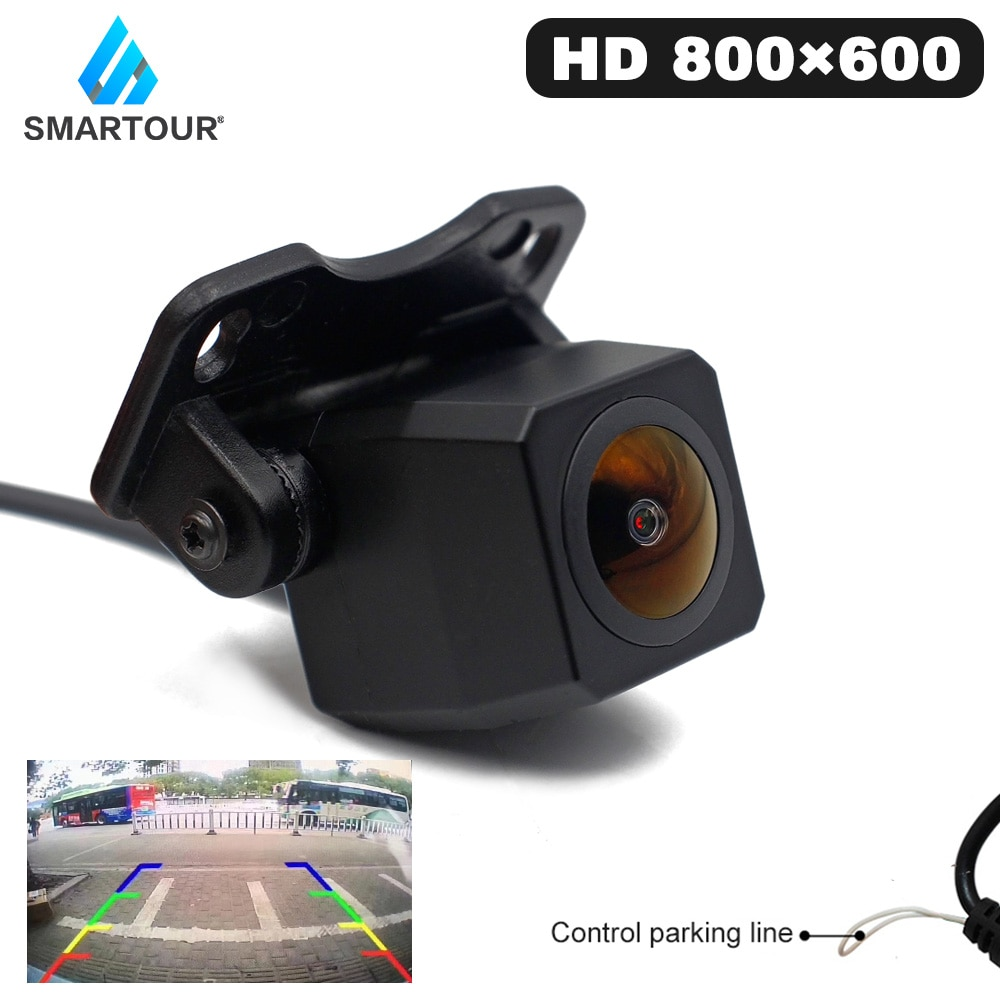Smartour Reverse Camera Rearview Car Night Vision Multi-Species Parking Monitor MCCD NTSC Waterproof HD Video