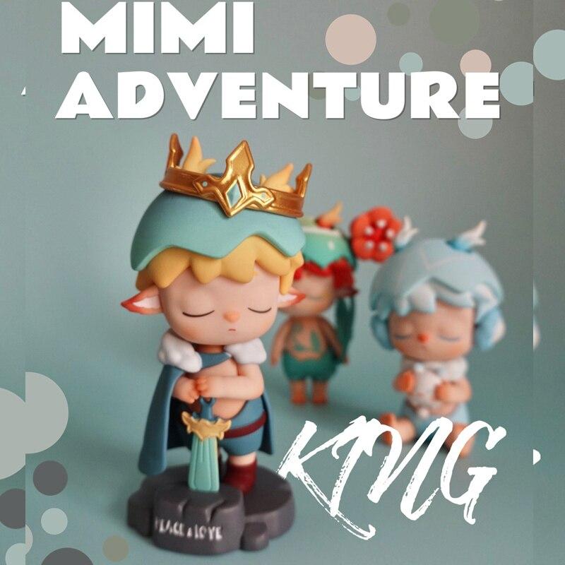 Фигурки героев аниме MIMI фигурки, Оригинальные фигурки героев, кавайная настольная модель, подарок на день рождения для девочек, коллекция к...