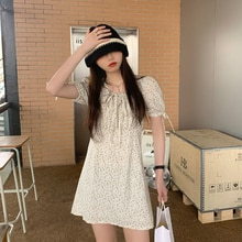 Inspirational Design Stylish Mori Style Casual Lace up Floral Skirt Women's Clothing 2021 Spring Kor