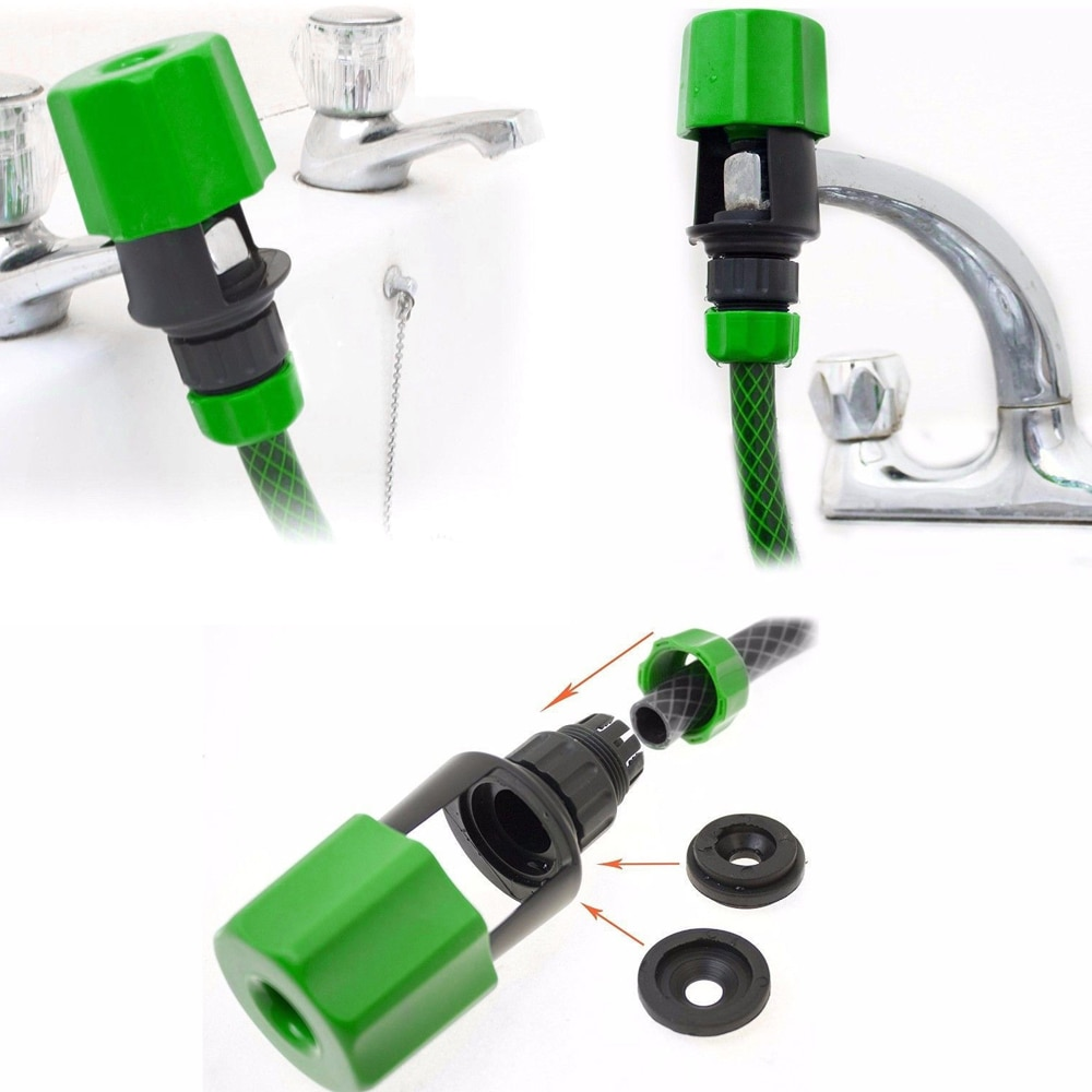 British Faucet Joint Kitchen Basin External Joint Garden Watering Connector Irrigation Tool Indoor Outdoor Water Connection Tool