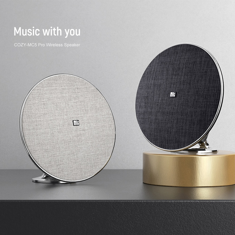 Promo NILLKIN MC5 Pro HiFi Home Theater Wireless Bluetooth Speaker  3D Surround For Movies and TV Support NFC For xiaomi for iPhone