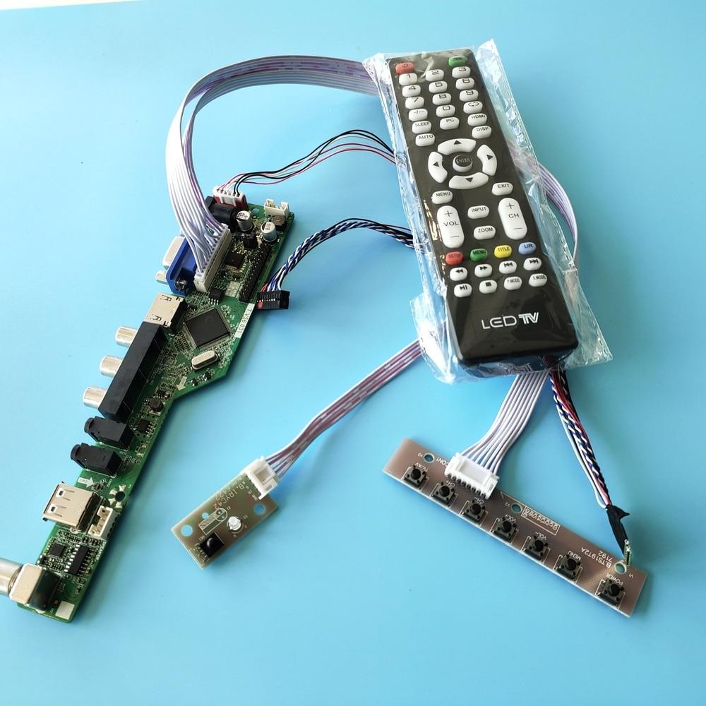 kit for LP173WD1(TL)(G2) VGA remote TV AV 1600X900 40pin LVDS Controller driver board LCD LED USB HDMI-compatible Panel 17.3