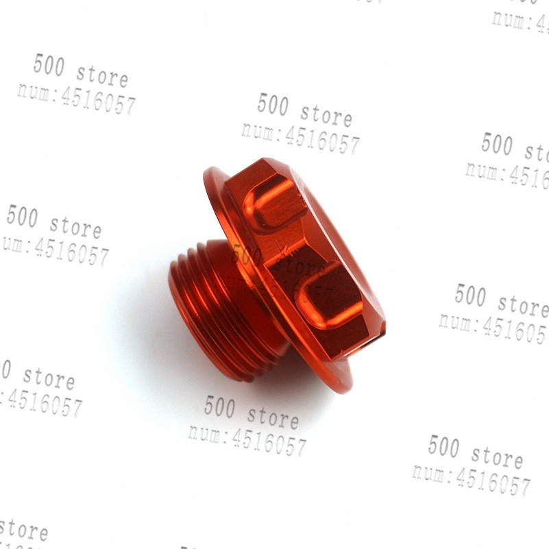 CNC Steering Stem Nut For KTM 125 150 200 250 300 350 400 450 500 525 530 SX XC EXC SXF SXS SMR XCF EXC-R EXC-F Motorcycle part