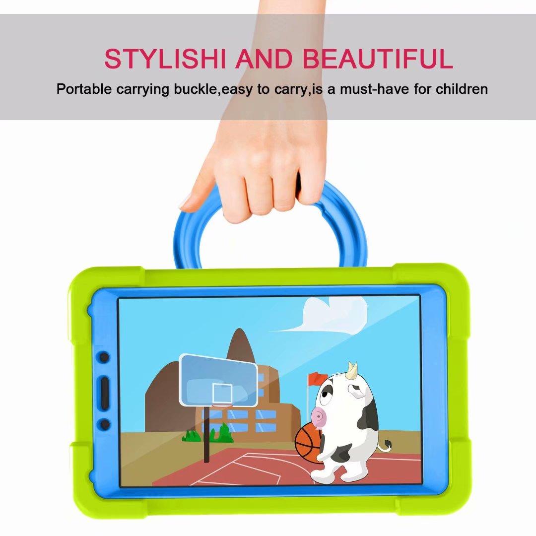 Funda protectora no tóxica para Samsung Galaxy Tab A 8,0 2019 SM T290 T295 T297, A prueba de golpes para niños